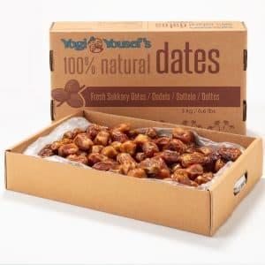 Box met extra softe dadels - 3 kilo
