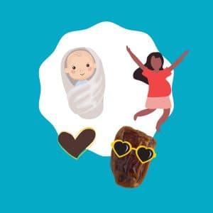 Dadels en zwangerschap