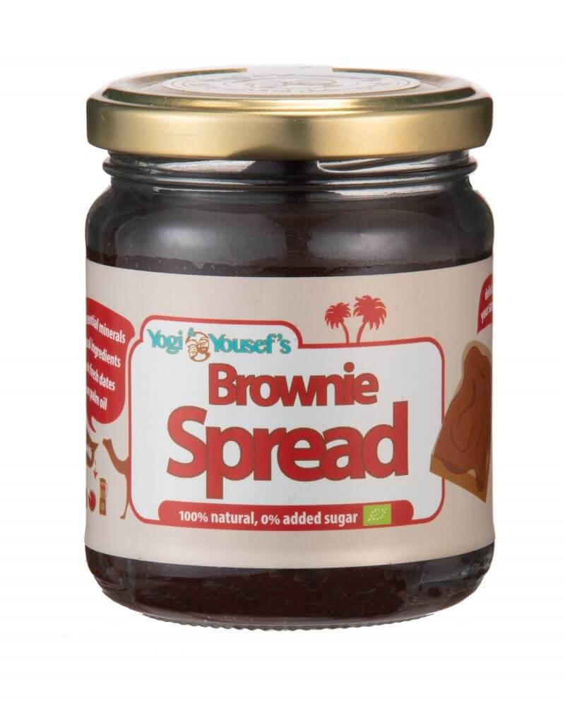 brownie dadelspread - potje 220 gram