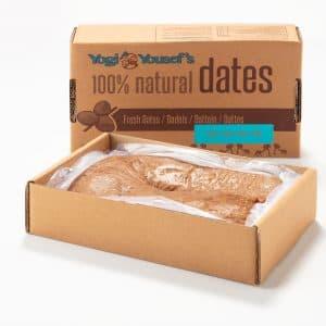 Biologische dadelpasta doos van 4 kilogram - weergave in open doos