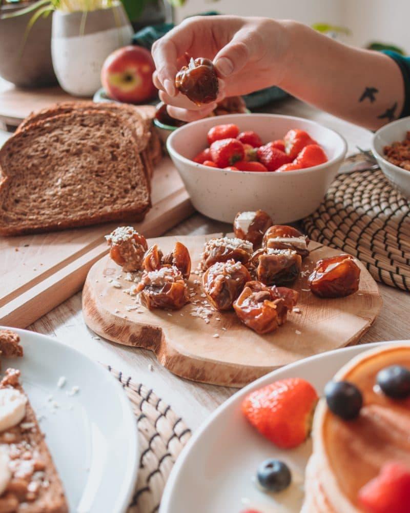 Ontbijt met dadels