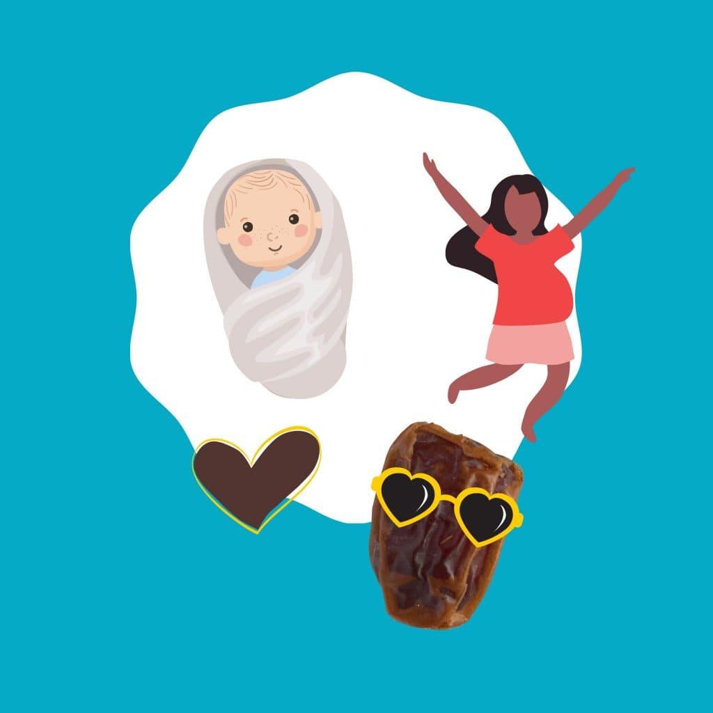 Dadels en zwangerschap - Yogi & Yousef